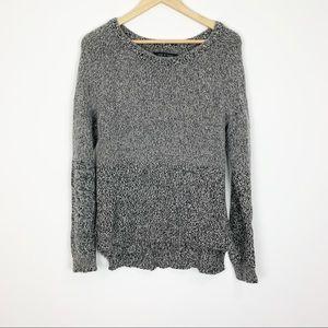 rag & bone Gray Wool Sweater Size Medium